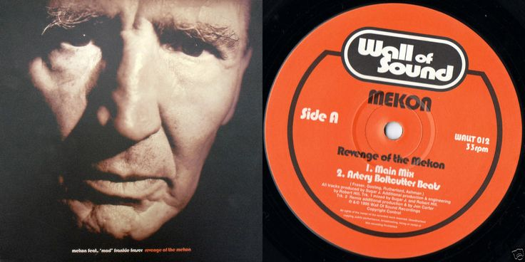 MEKON MAD FRANKIE FRASER Revenge Of The 1995 UK 12  VINYL WALLT012 FREE S&H