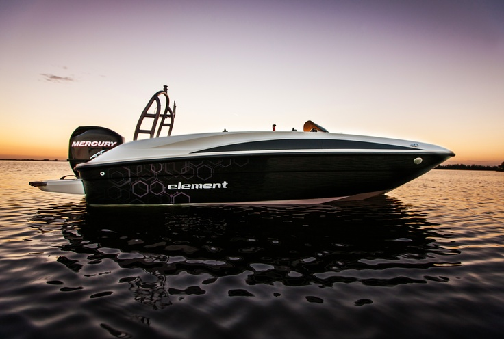 The new Bayliner ELEMENT -- The start of a new era. #bayliner #element