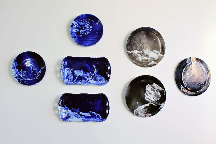 Martina Hudeckova porcelaine UMPRUM