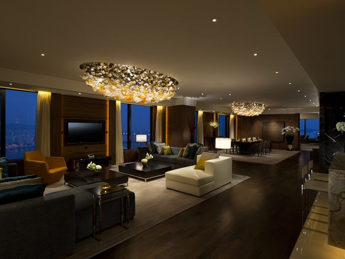 Conrad Seoul Hotel Korea Penthouse Suite Living Room