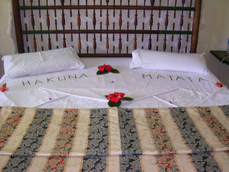 Note to self: hakuna matata! ;-)  http://silvias-trips.com/sognando-lafrica-lato-mare/