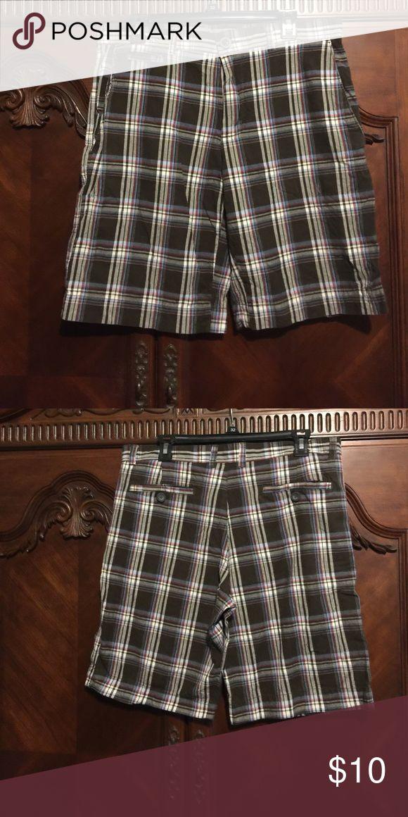 J. Ferrar Men's Plaid Shorts Sz 34 J. Ferrar Men's Plaid Shorts Sz 34 J. Ferrar Shorts