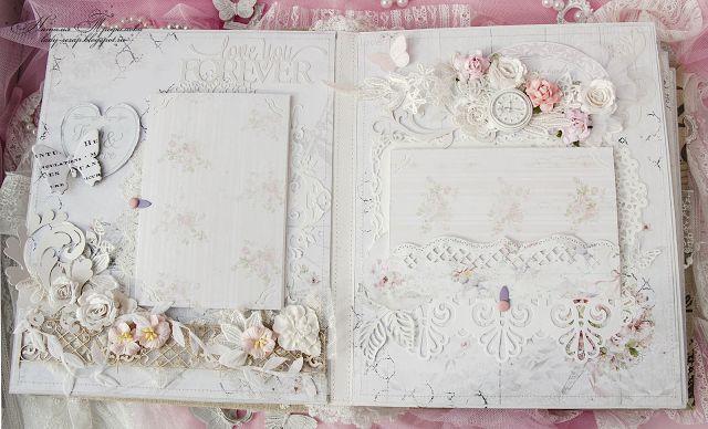 Shabby chic: Вдохновение от Наташи Трофимовой. Свадебный альбом - Французская романтика или Порхающие бабочки + коллекции Wedding и Baby от бренда Bee Shabby