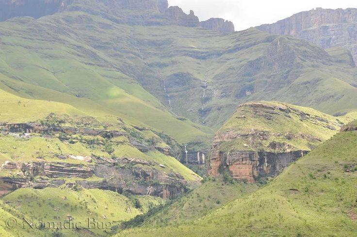 Waterfalls, Royal Natal National Park, South Africa   Nomadic Existence