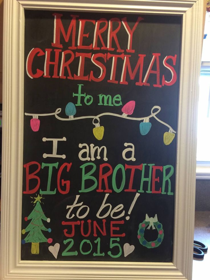 Christmas big brother announcement