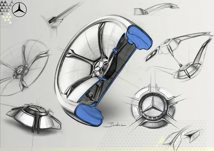 Mercedes-Benz Concept IAA, 2015 - Design Sketch