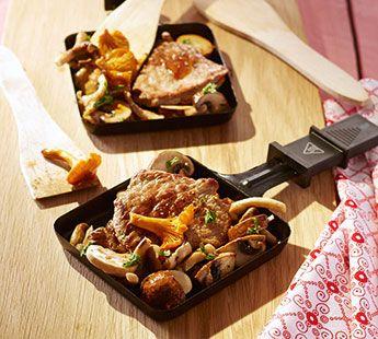 Malse biefstuk met paddenstoelen Gourmetrecept - Recept - Jumbo Supermarkten