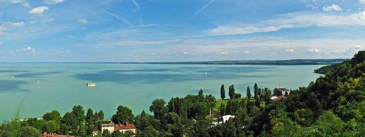 Der Balaton in Ungarn