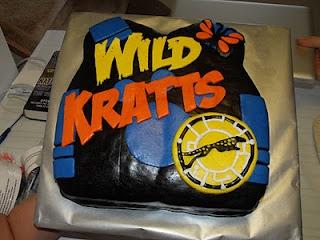 Awesome Wild Kratts cake!!