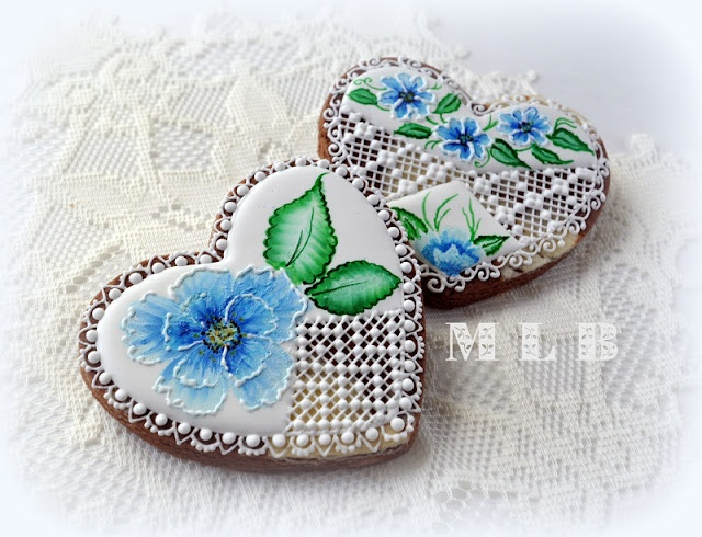 My little bakery :): Heart cookies...