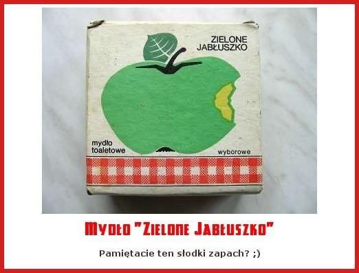 """Mydło """"Zielone Jabłuszko"""""""