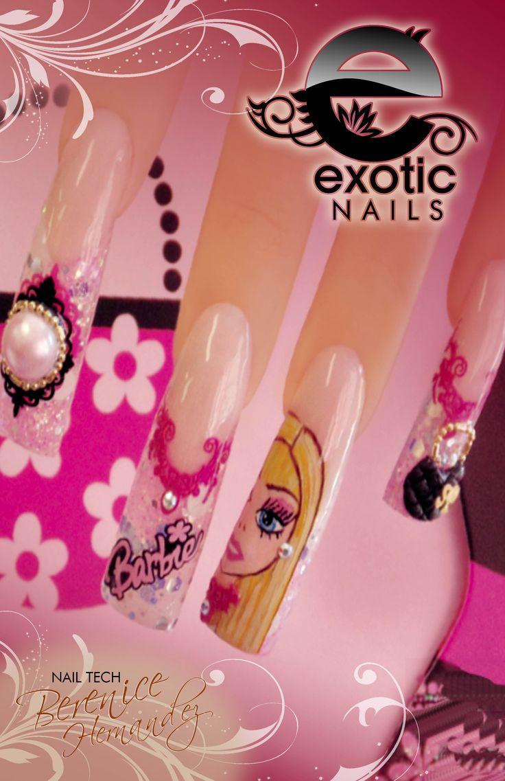 33 best Uñas/nails nail art images on Pinterest | Nail nail, Gold ...