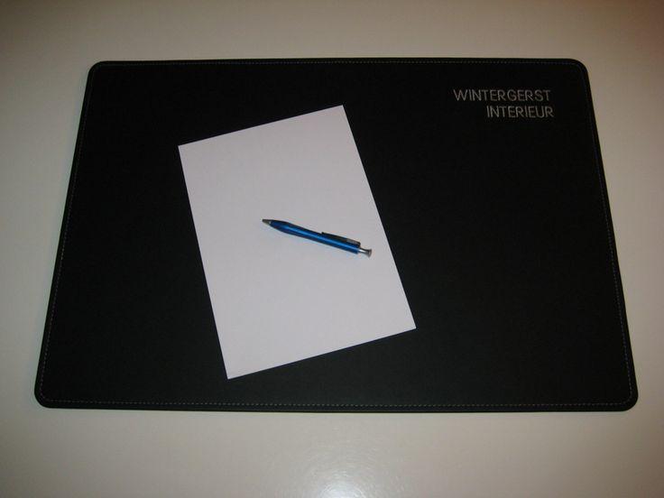 Schreibtischunterlage Leder 65x45 cm in 24 Farben von Wintergerst auf DaWanda.com