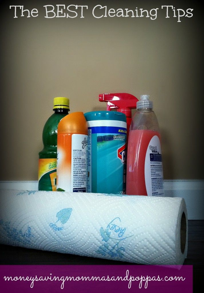 The Best Cleaning Tips and Tricks for Moms By Moms! I never would have thought of some of these!! #cleaning #neatfreak #spotlesshome
