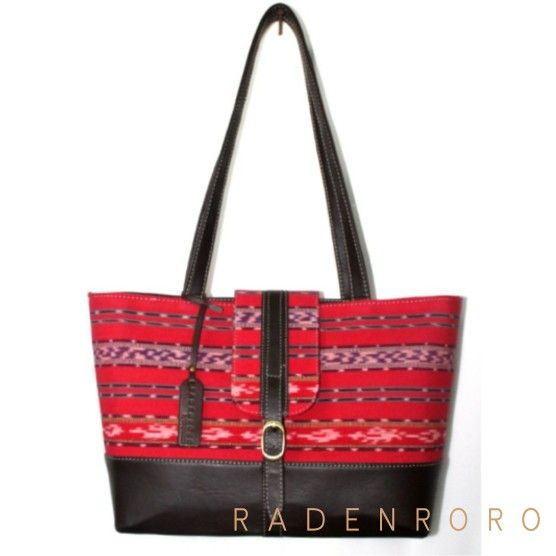 Tote bag with tenun Radenroroofficial