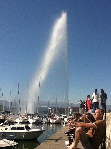 Geneva in the summer.