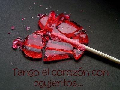 Tengo el corazón con agujeritos ... Chiquititas!!