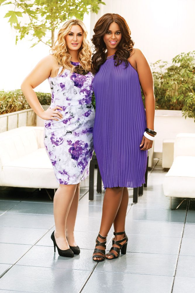 Ashley Stewart Model Britnee Blair and Arissa Lebrock