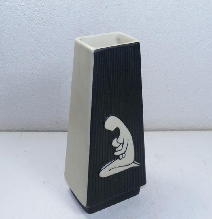 "SOHOLM - Holm Sorensen stoneware Vase from the ""you and me"" series - 50's - 503"