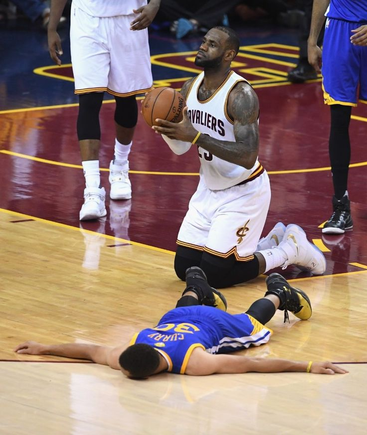 Cavaliers 2016 Finals Lebron James Curry