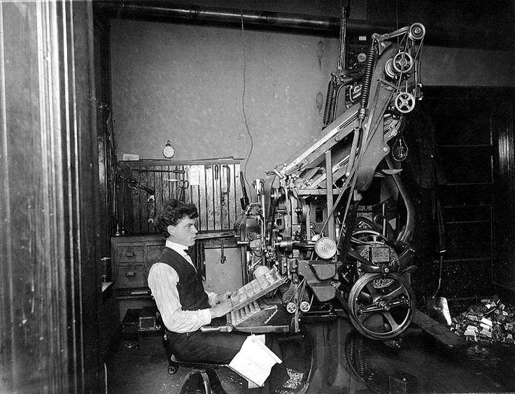 A Linotypist