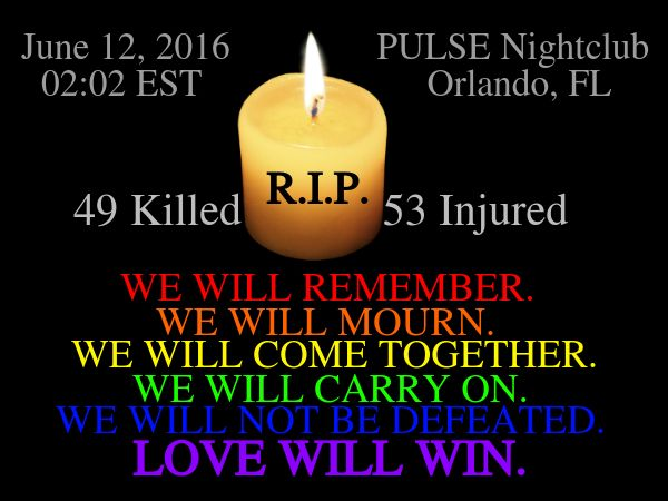 Jun 12th - The Pulse Nightclub Massacre
