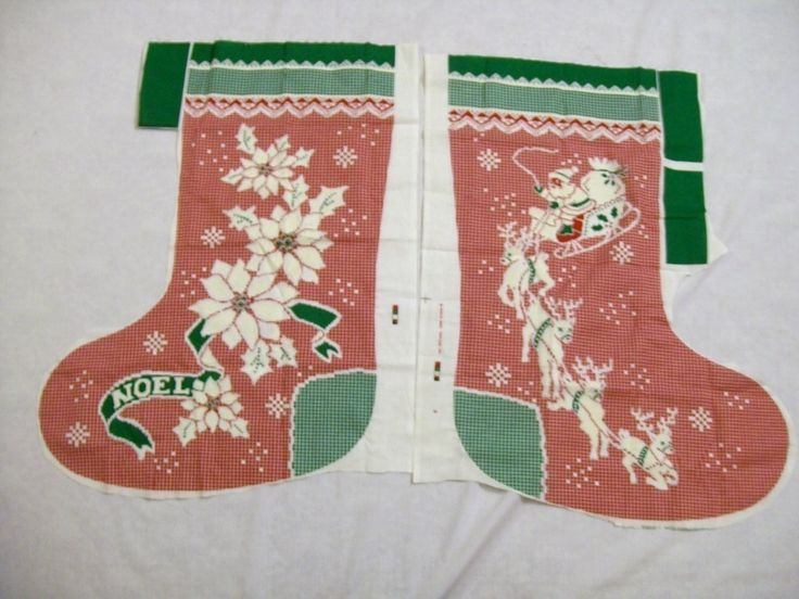 christmas stocking panels to quilt