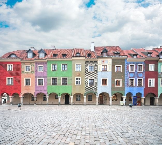 Poznań, Poland | 15 Colorful Buildings That Will Brighten Up Your Day