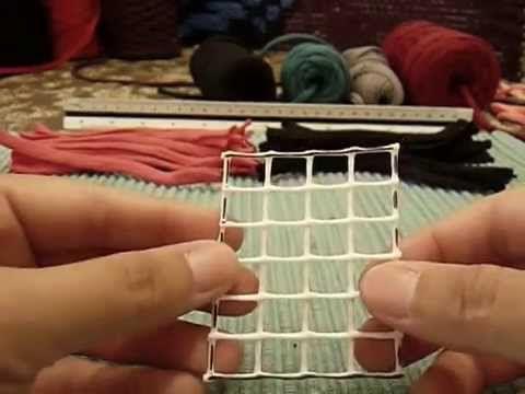 DIY cómo hacer una alfombra de trapillo paso a paso