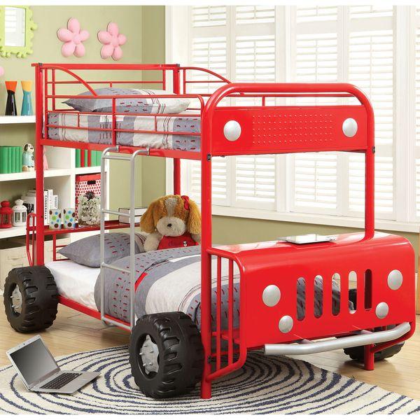 Furniture-of-America-Jones-Metal-SUV-Inspired-Twin-over-Twin-Bunk-Bed.jpg (600×600)