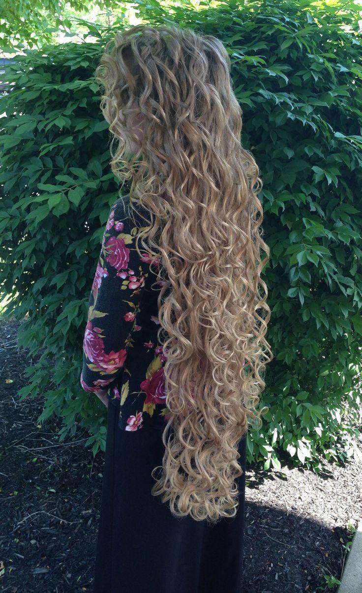 Pentecostal Long Curly Hair