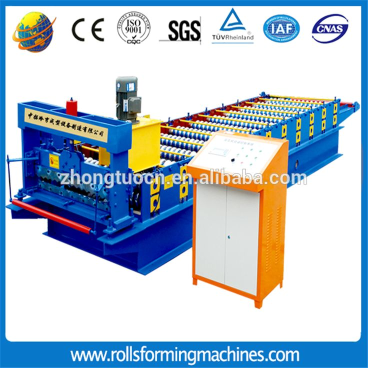 chinese supplier roof tile roll forming machine