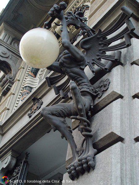 Particolare di Palazzo Della Fortuna, Direzione Generale di UniCredit Private Banking Via Arsenale, 21
