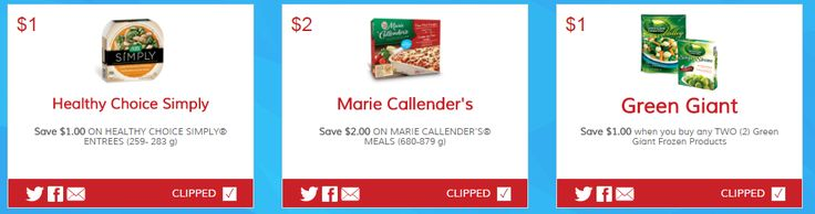 New Printable Coupons for Healthy Choice Marie Callenders and Green Giant http://www.lavahotdeals.com/ca/cheap/printable-coupons-healthy-choice-marie-callenders-green-giant/135698
