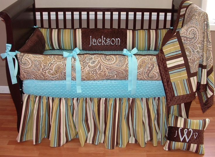 kelley boy baby bedding this custom baby crib bedding set includes bumper pad blanket and crib. Black Bedroom Furniture Sets. Home Design Ideas