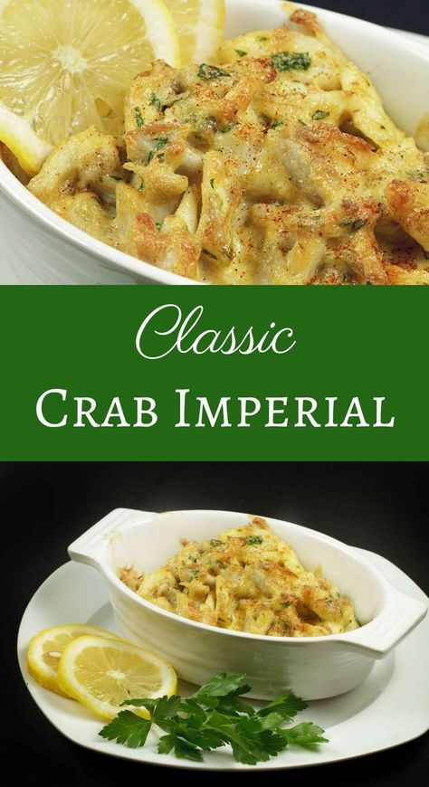 My Classic Crab Imperial Recipe is not only OMG delicious but super easy to make! Wow your guests or that special someone with this timeless classic.