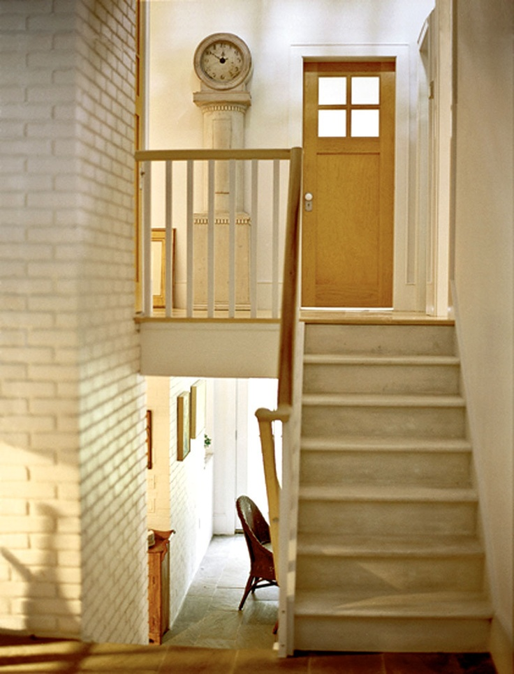 17 best images about remodel split stairs on pinterest for Foyer area interior