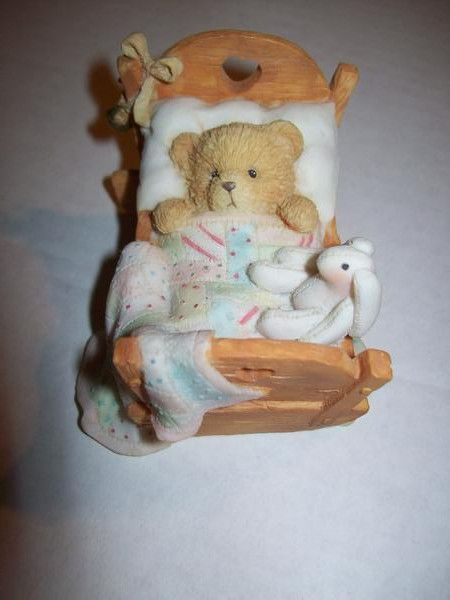Cherished Teddies Baby Cradled With Love - We Got Character