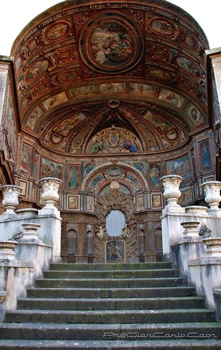 Fontana dell'Organo, Palazzo del Quirinale, Roma, Lazio, Italia
