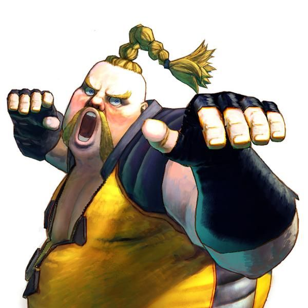 street fighter 4 character rofus - Google Search