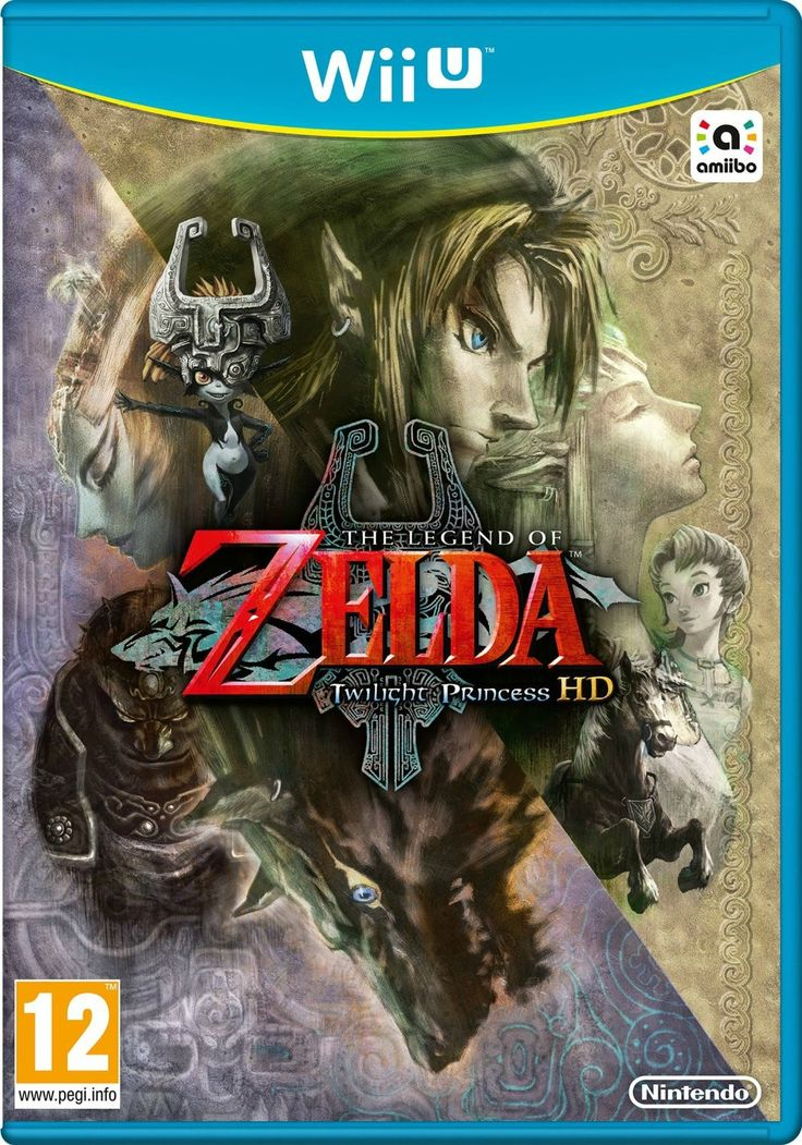 The Legend of Zelda: Twilight Princess HD - European box art anybody like this one better than the american one?