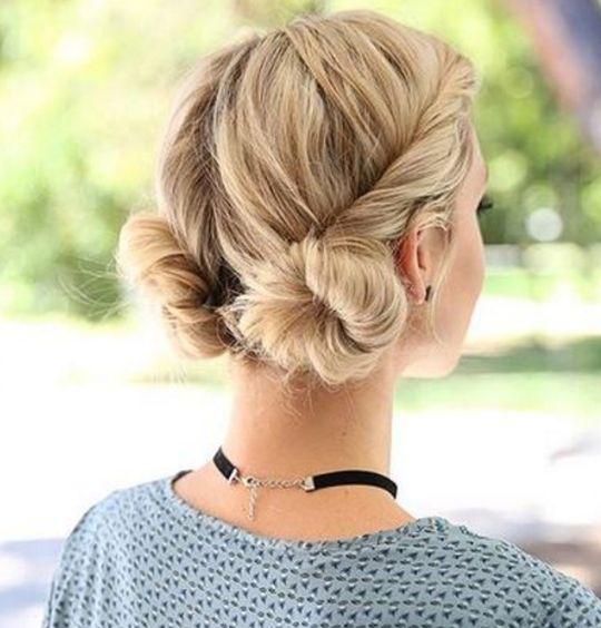 55 idées pour s'attacher les cheveux avec classe