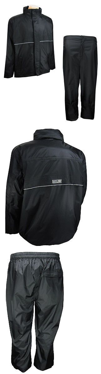 Other Mens Golf Clothing 181141: New The Weather Company Golf - Unisex Rain Suit Black Large 68001 -> BUY IT NOW ONLY: $49.99 on eBay!
