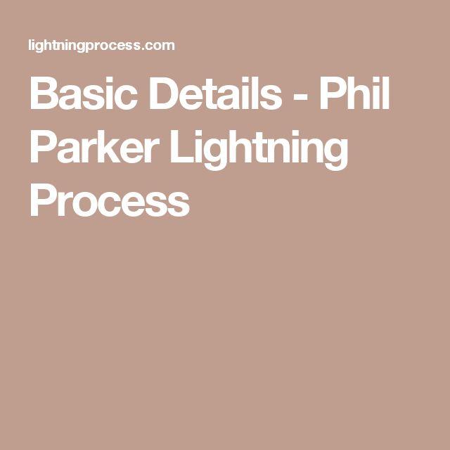 Basic Details - Phil Parker Lightning Process