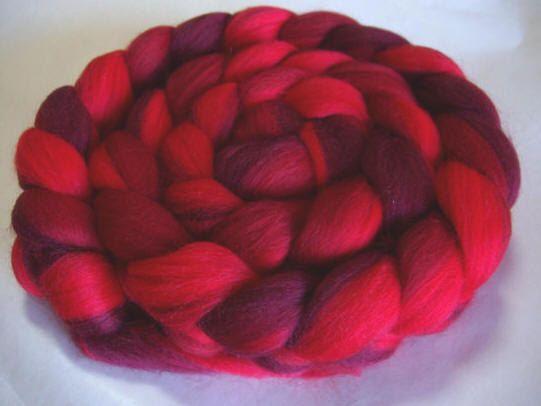 Arc-en-ciel merino laine roving/top, extra doux, filage, feutrage humide/sec/nuno et dreadmaking, filature fibres, 100g / 3,5 oz