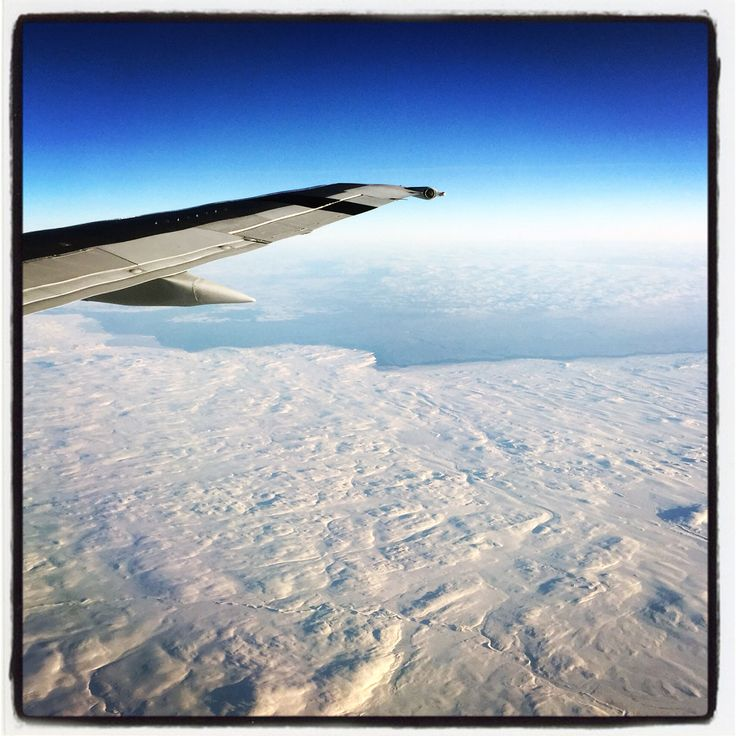 Flying from Ottawa to Iqaliut