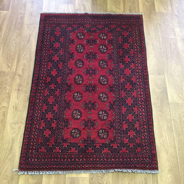 Chandra Rugs Afghan Aqcha Bukhara Carpet Rug x cm u x Afghan RugsAfghansWall HangingsCarpets