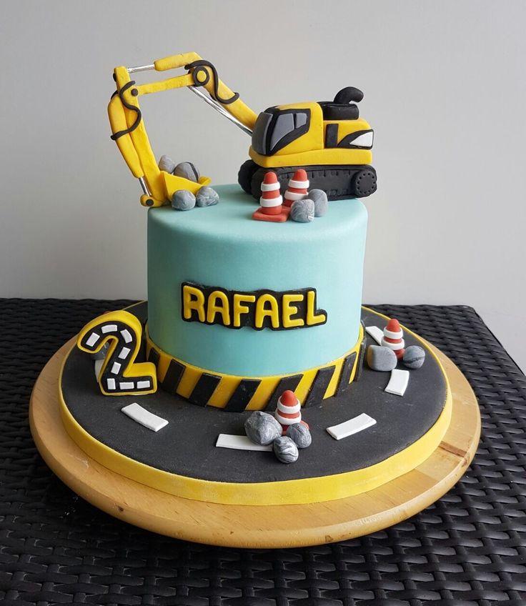 Geburtstagstorte Bagger