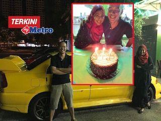 Video: Bukan nak riak..  Isteri hadiahkan suami Mitsubishi Lancer Evolution VI (EVO 6) sempena ulang tahun perkahwinan ke-17   BUKAN niat saya mahu menunjuk atau riak tetapi hadiah kereta Mitsubishi Lancer Evolution VI (EVO 6) berkenaan hanya kejutan buat suami sempena ulang tahun perkahwinan kami ke-17 hari ini (semalam).  Video: Bukan nak riak..  Isteri hadiahkan suami Mitsubishi Lancer Evolution VI (EVO 6) sempena ulang tahun perkahwinan ke-17  Saya hanya berkongsi rakaman detik indah itu…