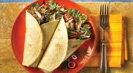 These Rustic Balsamic Chicken Wraps are not your ordinary wraps - they're just the right amount of fancy!